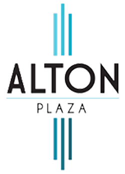 Alton Plaza Apartments Logo, Link to Home Page